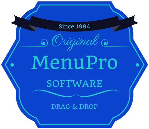 We invented Drag and Drop Menu Software