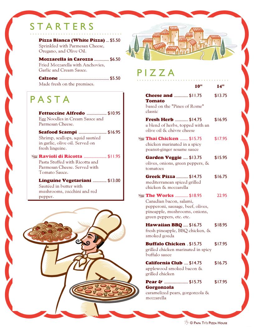 MenuPro · Menu Design Samples from MenuPro menu software - more than just restaurant menu templates
